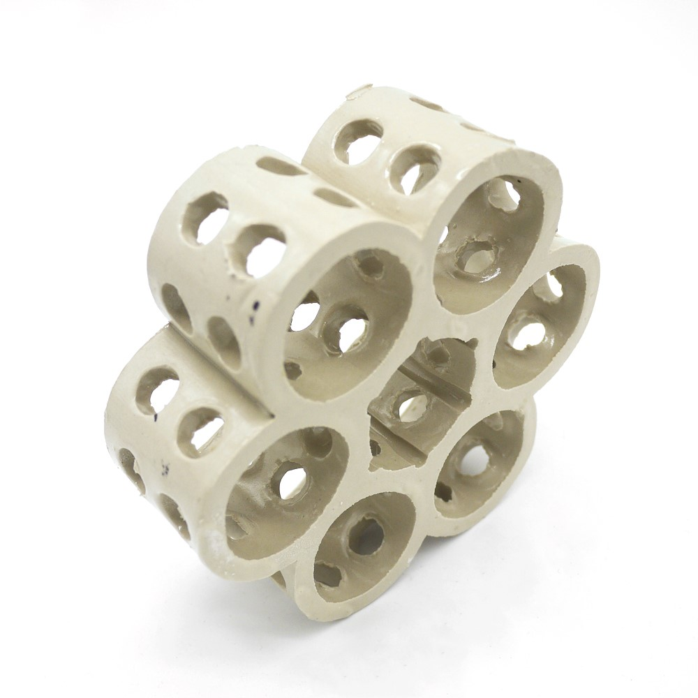 陶瓷组合连环-轻瓷全瓷组合填料