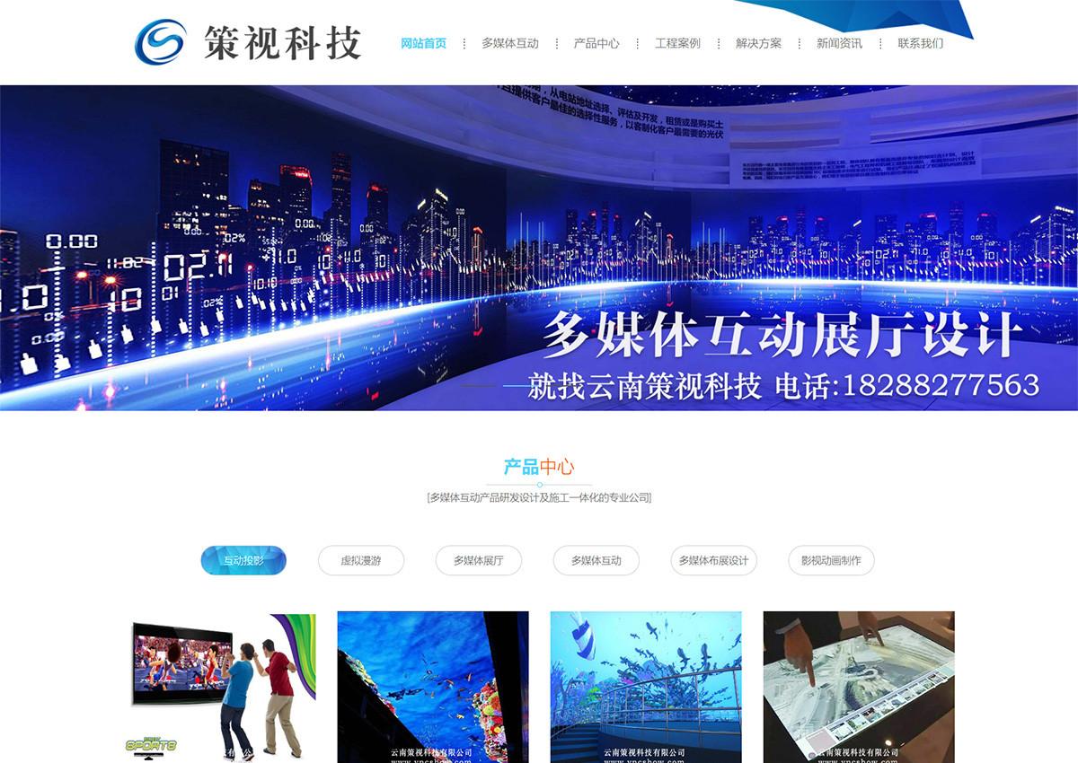 多媒体互动网站SEO优化案例