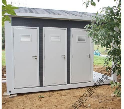 移动厕所在城市美化过程中发挥大作用