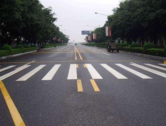 道路标线施划步骤简要说明