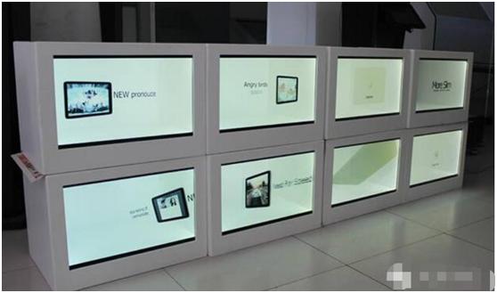 呼和浩特触摸透明展示柜的特点是什么?