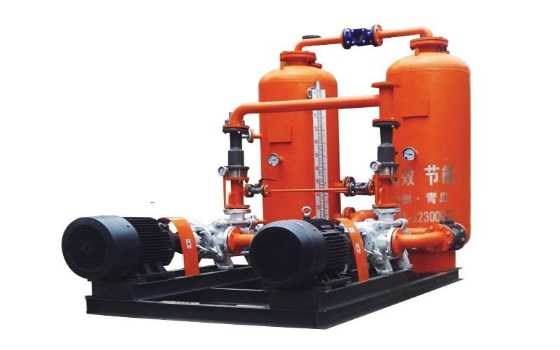 密闭式蒸汽冷凝水回收系统