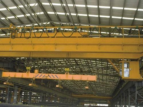 Electric double beam bridge crane