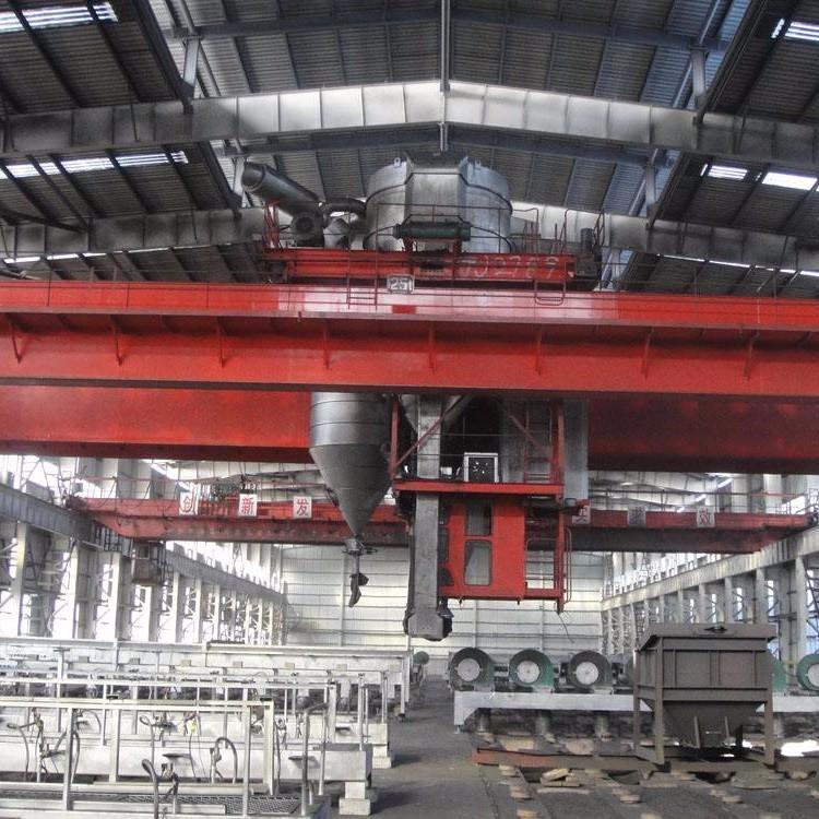 起重机应用钢铁行业工程案例