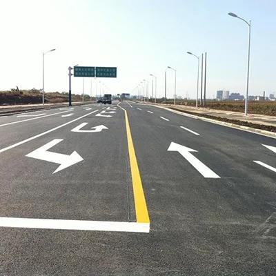 道路标线施划