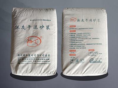 福州干粉砂浆厂家与你浅谈下干粉砂浆都有什么特点?