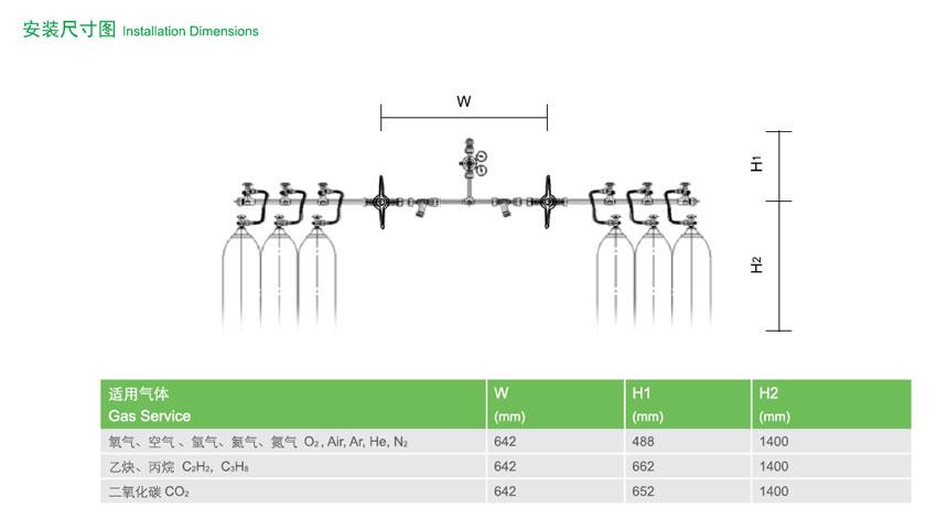 R8300双侧式气体汇流排是怎样工作的