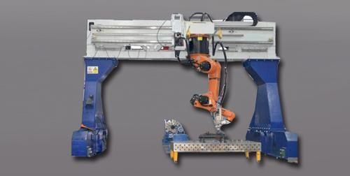 激光龙门焊接装备