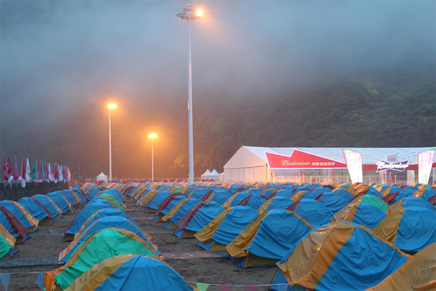 红河漂流户外露营