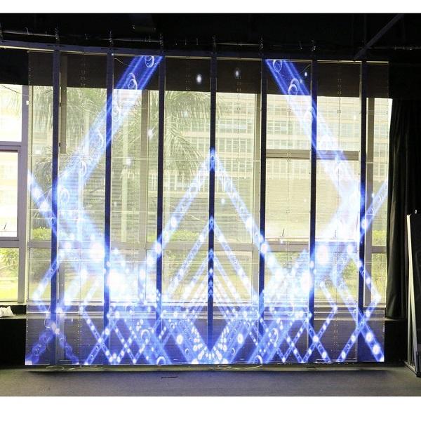 呼和浩特LED透明屏的商业价值如何?