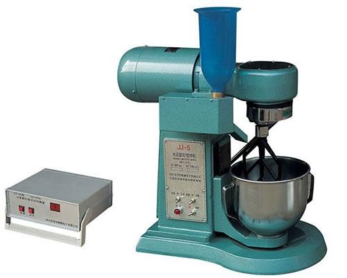 JJ-5型水泥胶砂搅拌机