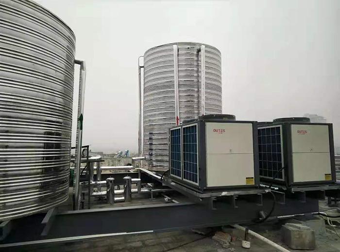 金坛如家酒店空气能热水器工程案例