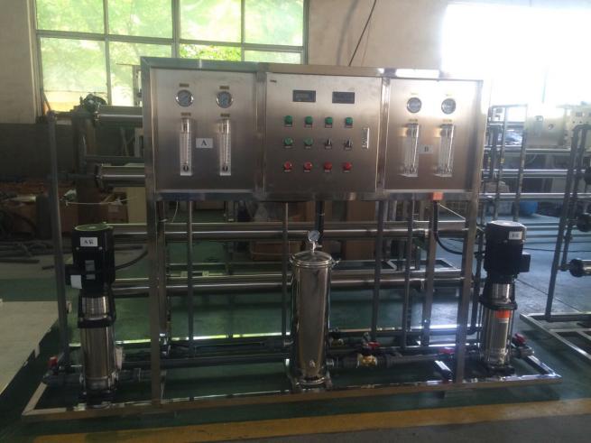 山东汀兰超纯水设备工艺流程简介