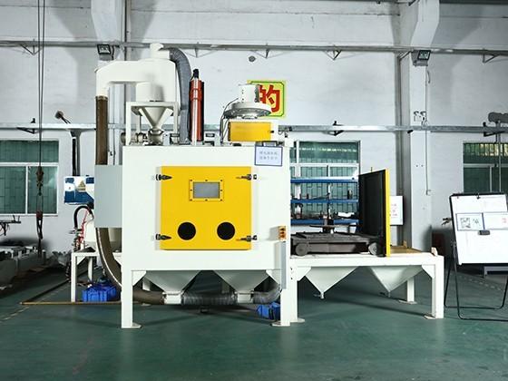 Single Turntable Trolley Shot Blasting Machine SRT1-80L1-1