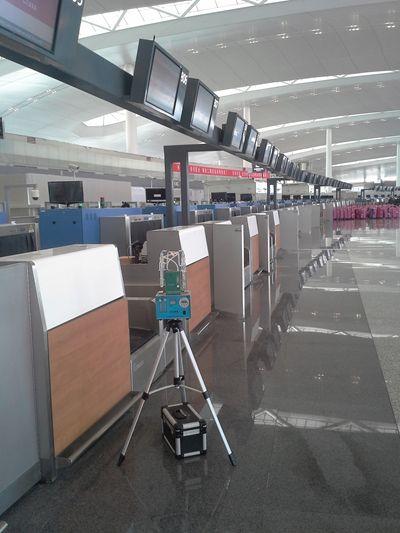 机场二期航站楼交付室内环境验收检测