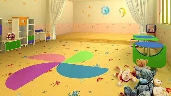 幼儿园儿童卡通卷材pvc地板——卡喜龙