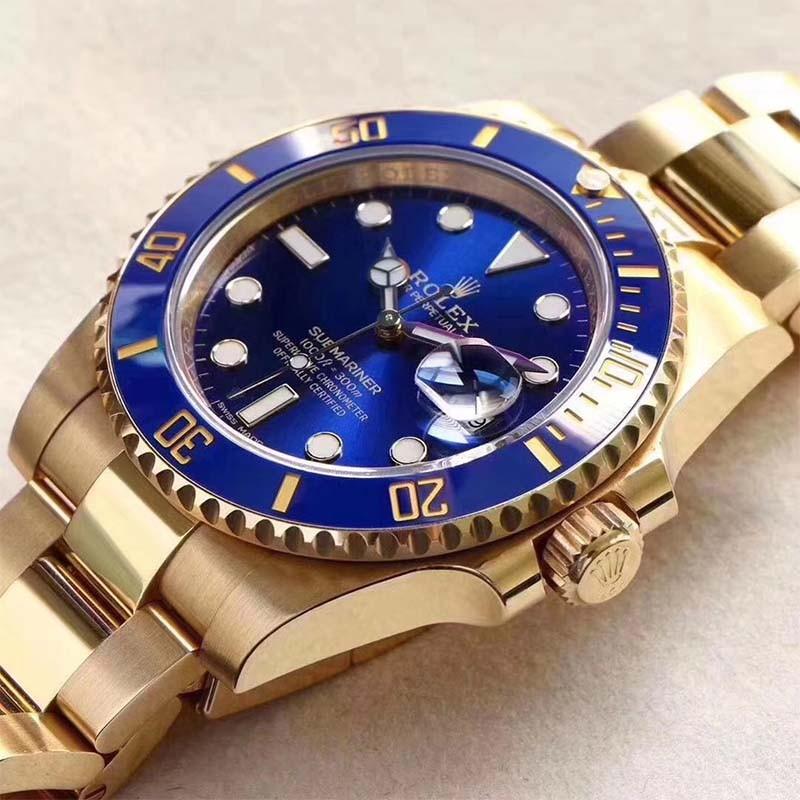 宝石蓝机械手表
