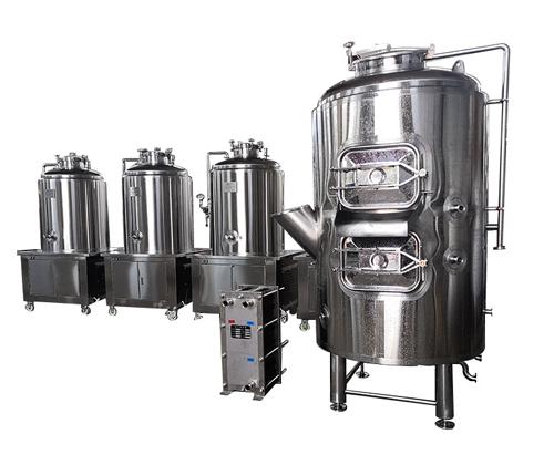 一體機精釀啤酒設備