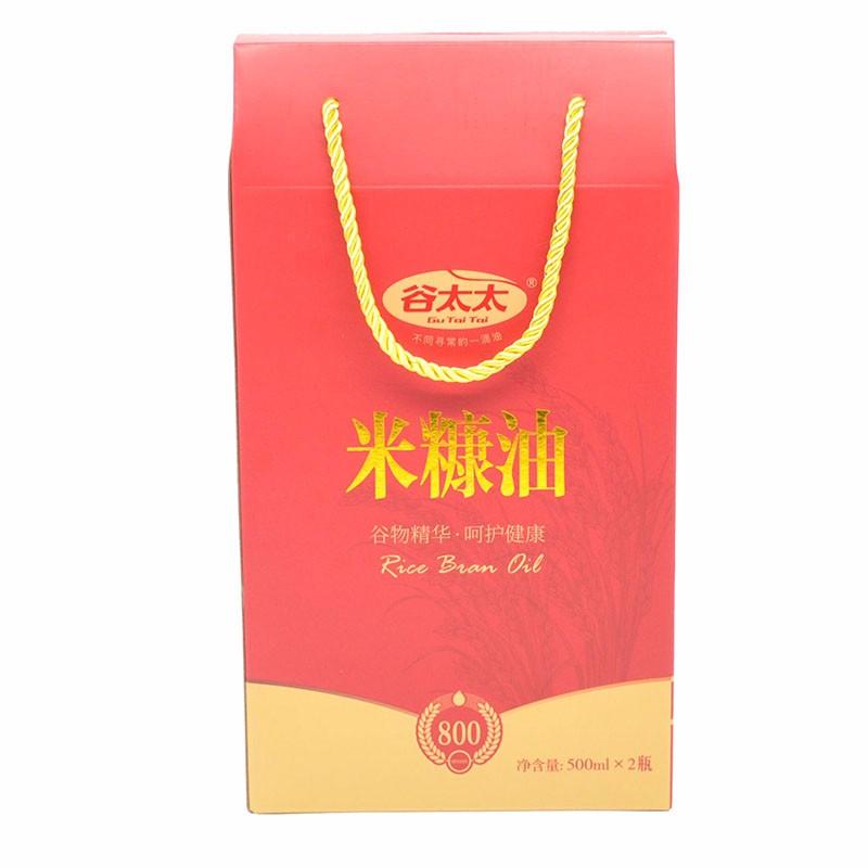 特级礼盒系列500ml*2米糠油