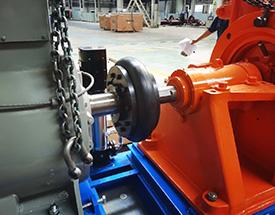 轮胎联轴器安装应用