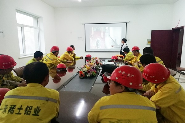 Fire safety lecture in December 2019