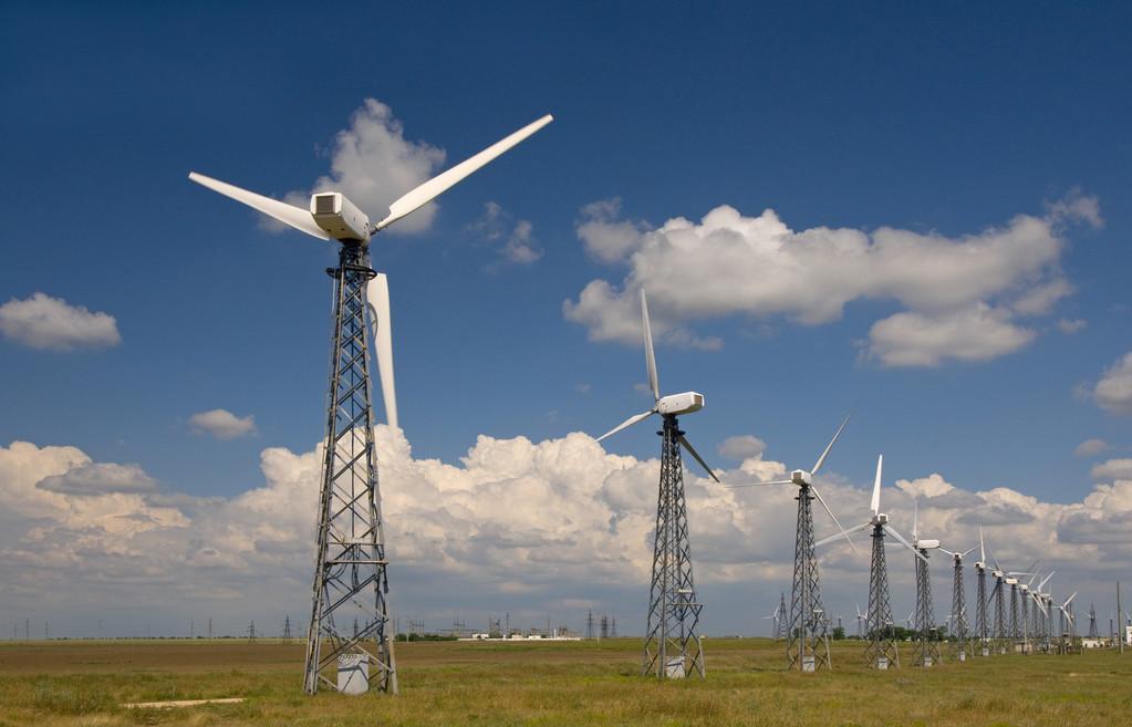 中哈合资中亚风力发电站全容量并网