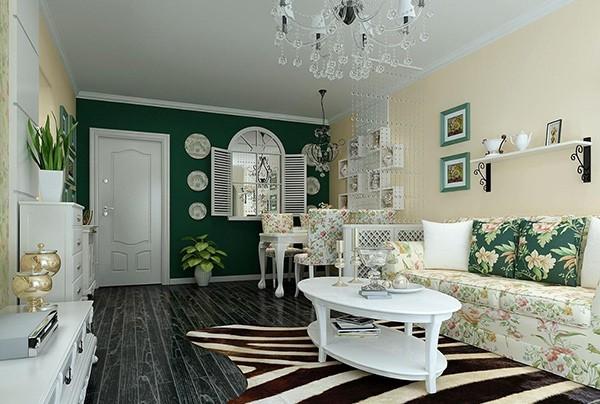 简约的小清新家居——田园风格的卧室装修也很不错