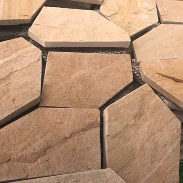 云南黄砂岩冰裂纹