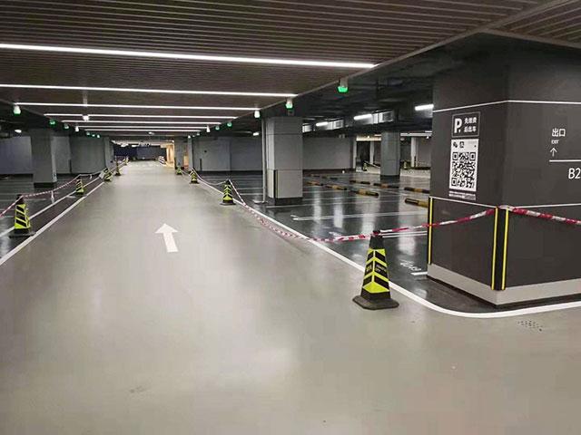 停车场车位划线