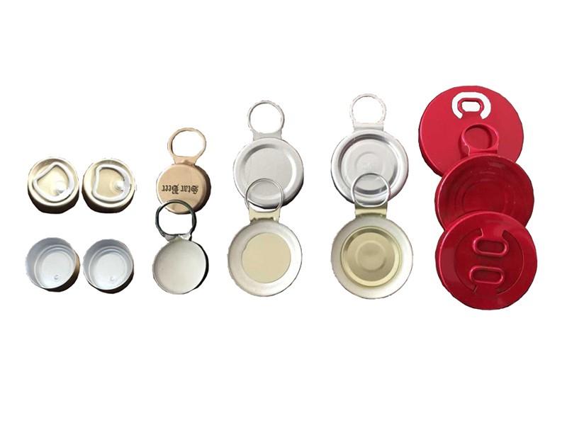 Ring pull caps (aluminum)