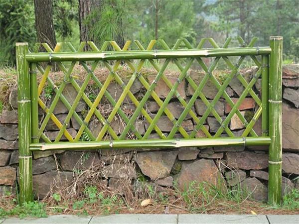 竹籬笆欄桿