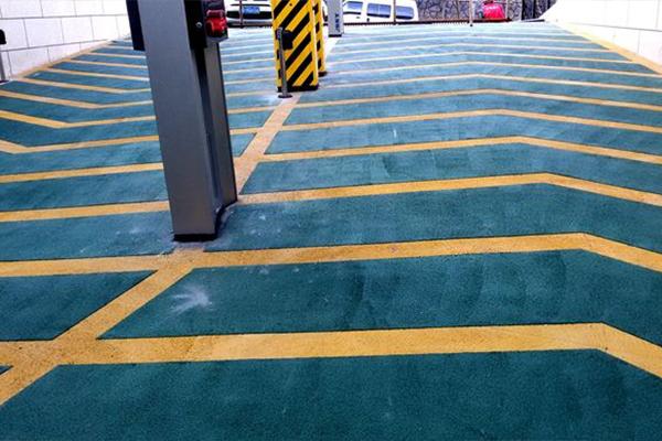 防止滑坡道地坪
