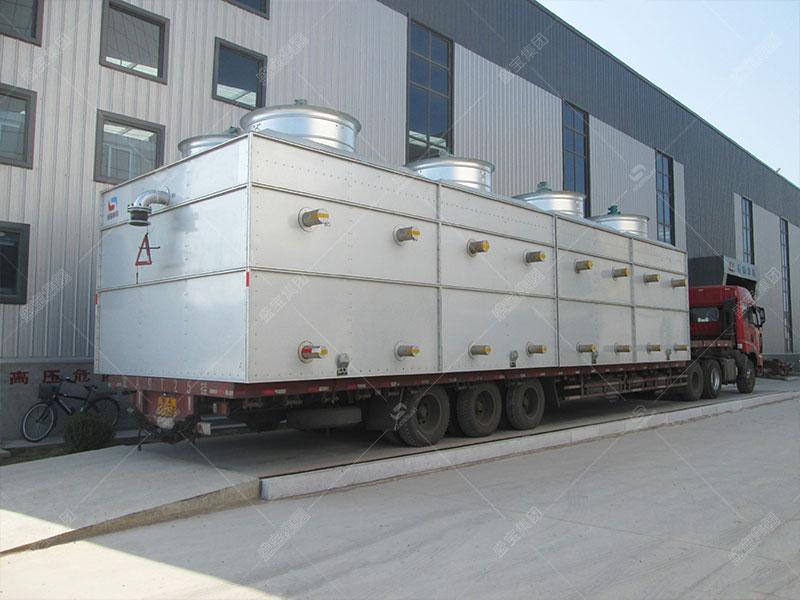 蒸发式冷凝器传热分析