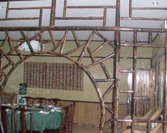 室内竹装修成品图