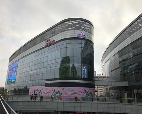 海南吊篮租赁工程五:海南日月广场