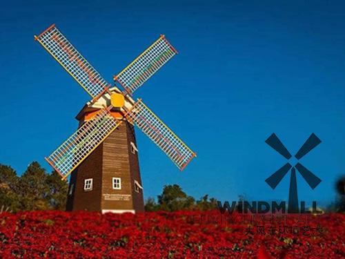 贵州黔东南红叶庄园风车