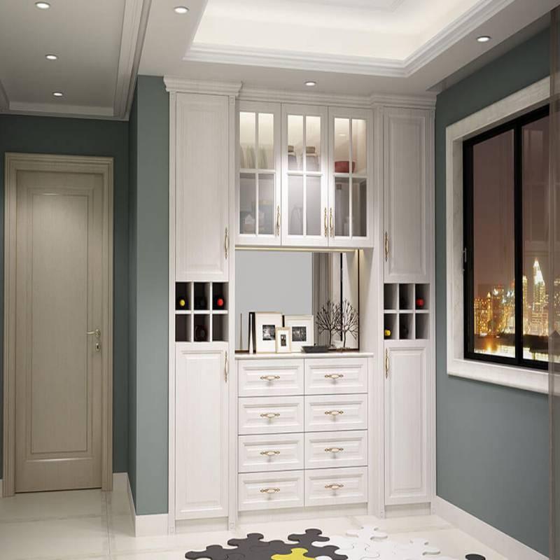 现代客厅柜
