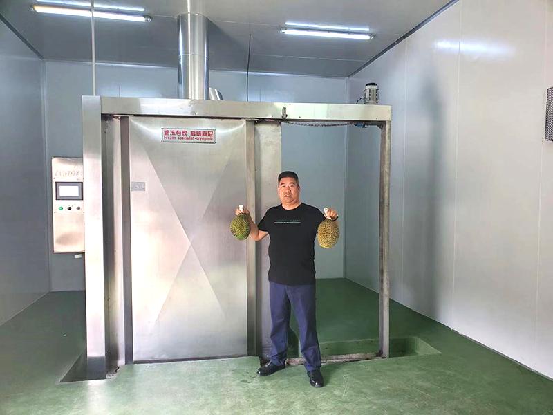 推车式液氮速冻机