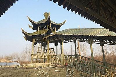 安徽竹长廊设计