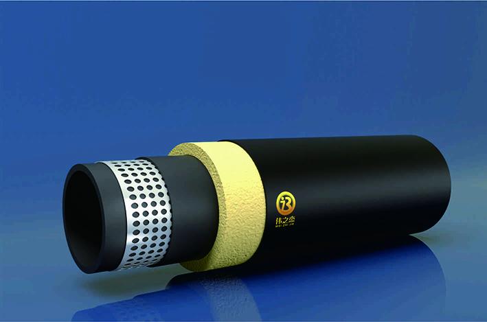 直埋保温孔网钢带聚乙烯复合管