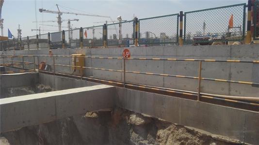 工地施工护栏是否存在早锈蚀的现象?