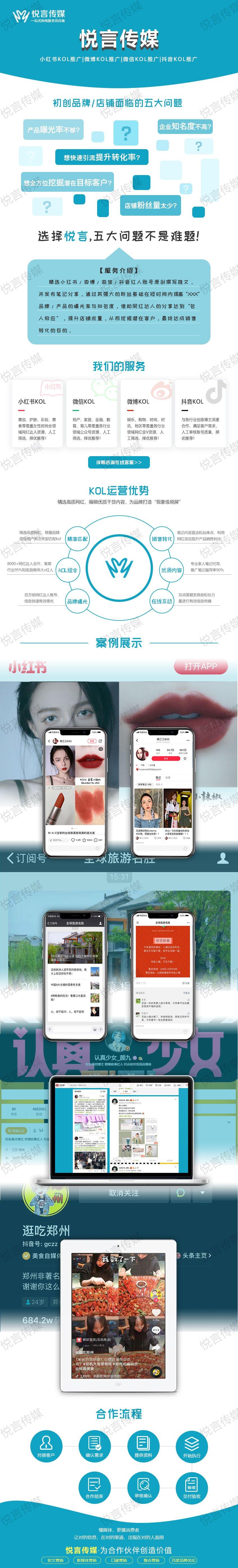微信kol推广/微信红人推广