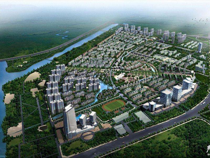 杨柳国际新城广场塑料模壳工程