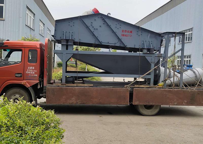 尾沙回收机案例