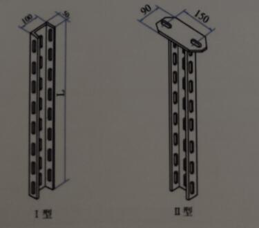 XQJ-H-01C工槽钢立柱