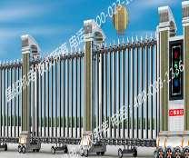 不锈钢电动伸缩门在设立方面应考虑的事项