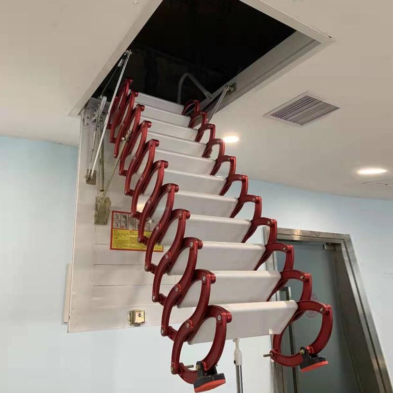 甄合金伸缩楼梯