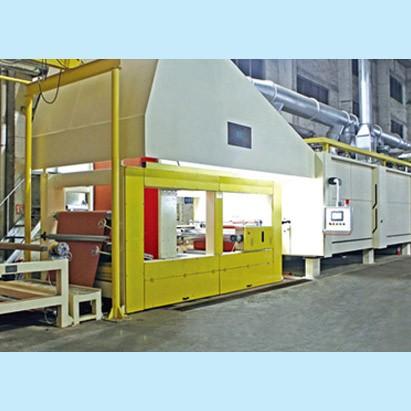 人造板行业用卧式浸渍、覆涂干燥生产线