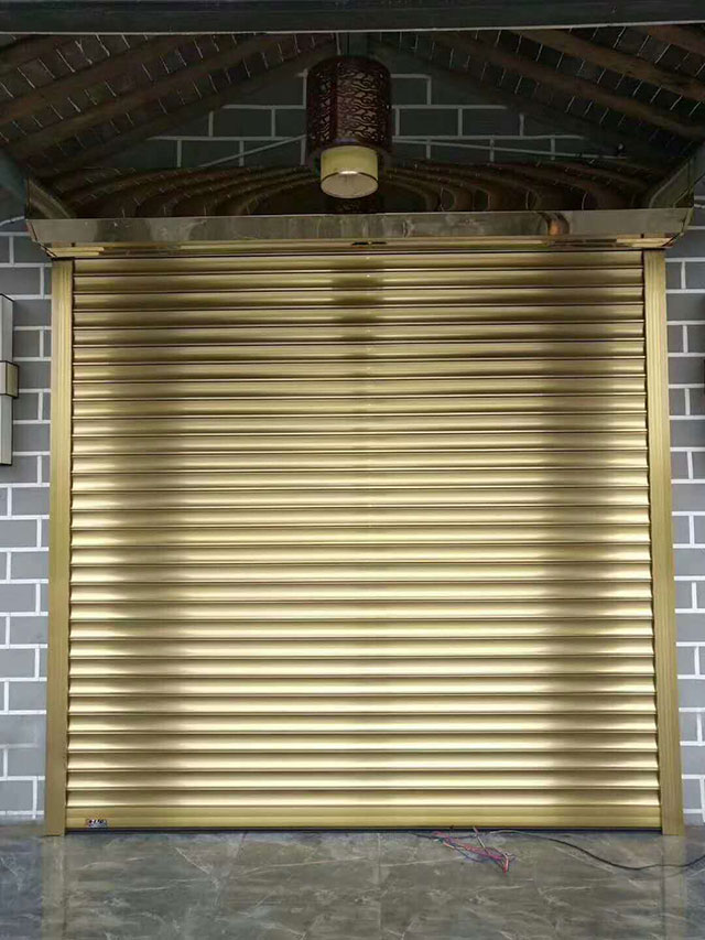 铝合金卷帘门