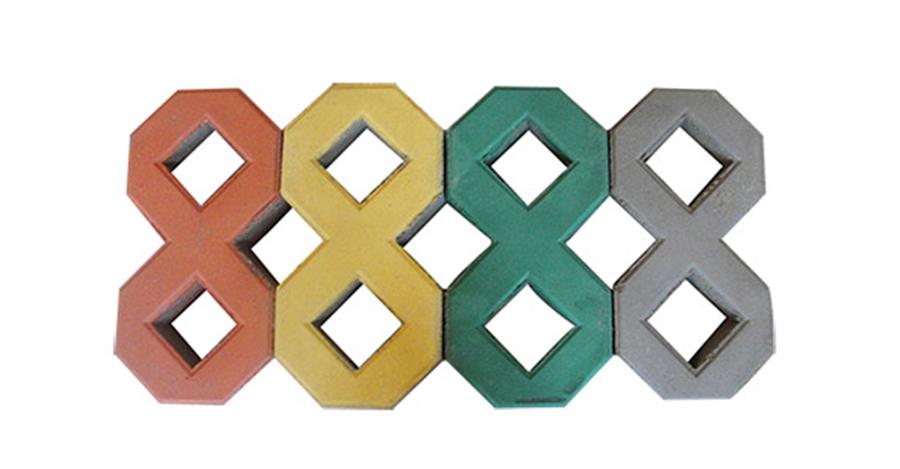 福州8字型草坪砖